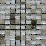 2.3x2.3 cm AG glasmozaiek
