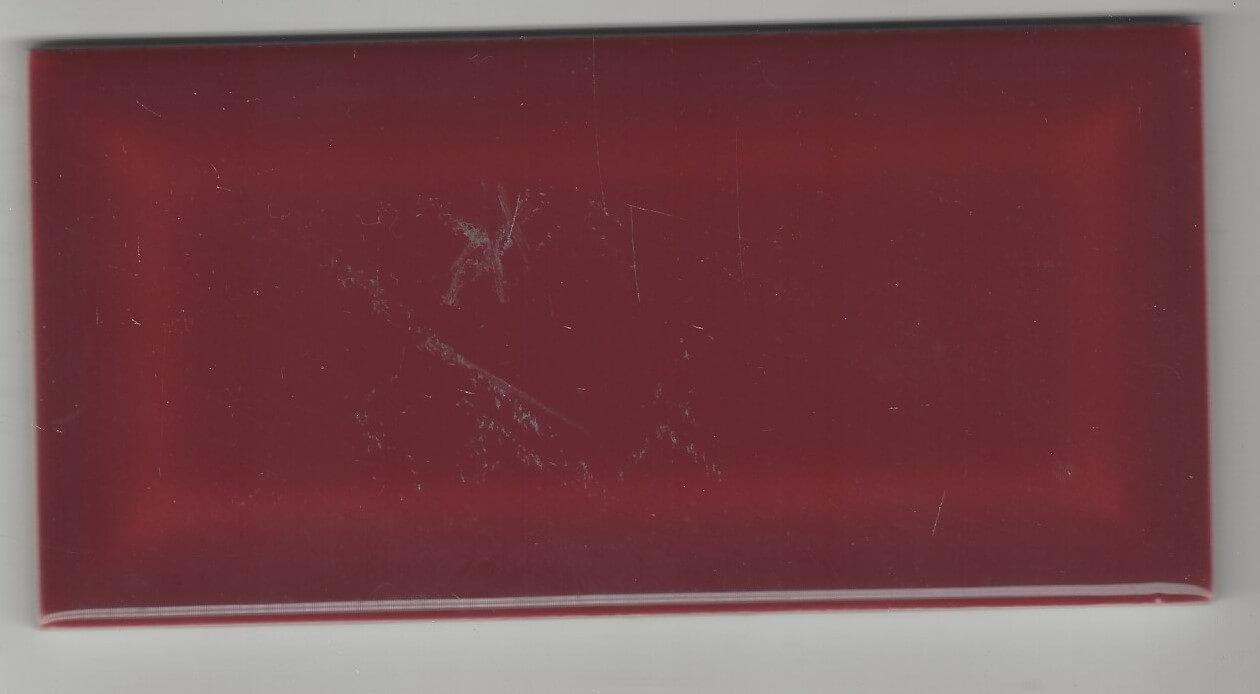 Rouge bordeaux nr faïence métro